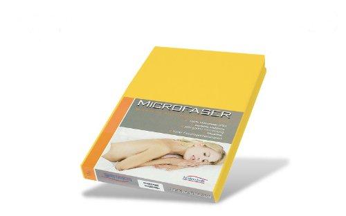 Kirsten Balk Microvezel hoeslaken in goud 180x200 tot 200x200cm bedlaken voor waterbed/waterbedden