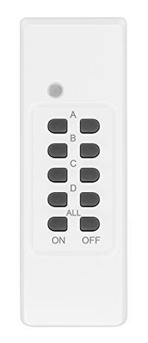 Mumbi 27541 draadloze stekkerdoos, uitbreiding, afstandsbediening