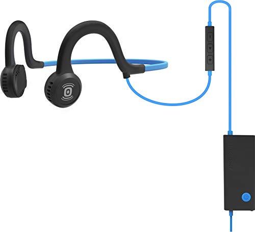 Aftershokz Sportz Titanium Bone Conduction Knochenleitung Kopfhörer mit Mikrofon für Sport