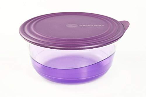 Tupperware Eleganzia 2,3 L violett Schüssel servieren Schale lila Servierschale 35585