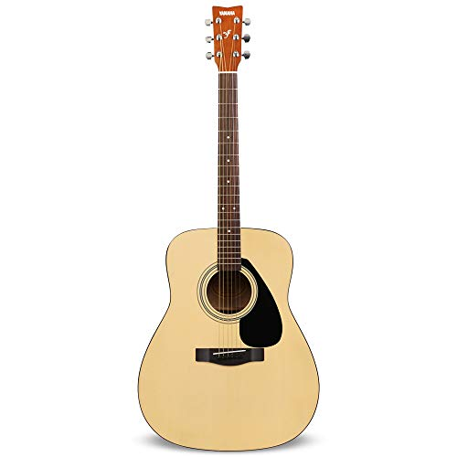 """Yamaha F310 Chitarra Folk, Chitarra Acustica 4/4 in Legno (63,4 cm, scala da 25""""), 6 Corde in Acciaio, Naturale"""