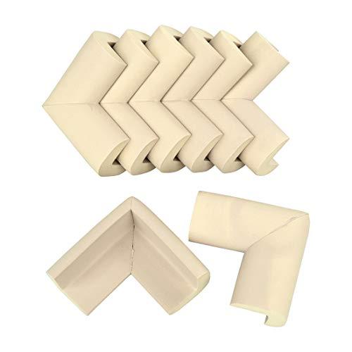 Protectores de Esquinas para Bebés y Niños, Bverionant 8 Piezas Protectores de Seguridad para Mesas Muebles Esquina de NBR Cojines Protectores Esquineras Anti-colisión