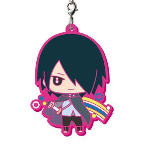 Boruto Naruto Next Generation It's Capsule Rubber Mascot! Sasuke Uchiha