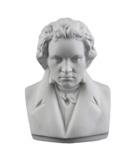 Kämmer Porzellanfigur Büste Ludwig Van Beethoven