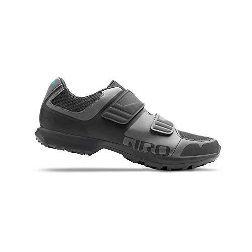 Giro Berm W Womens Mountain Cycling Shoe − 38, Titanium/Dark Shadow (2020)