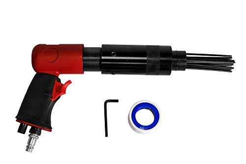 Druckluft Nadelentroster 1/4' 19 Nadeln Rostentferner Nadelpistole Entroster