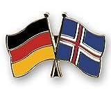 Pin Deutschland-Island