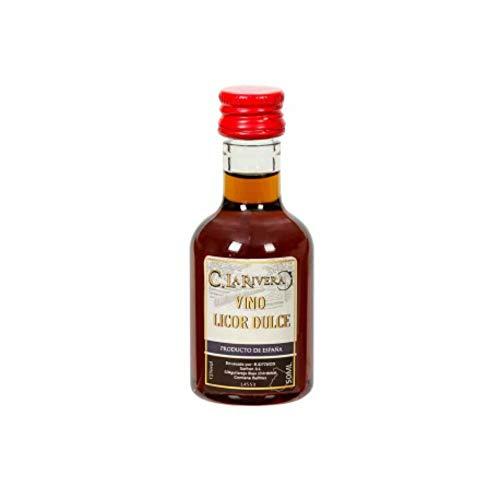 """Lote de 20 Botellas de Vino Dulce de Córdoba""""La Rivera"""" Licores. Regalos Originales. Complementos. Detalles para Bodas, Comuniones, Bautizos y Cumpleaños. CC"""
