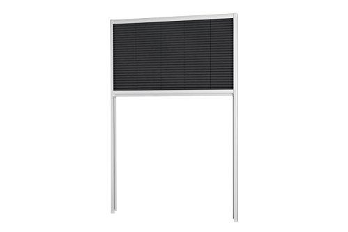 empasa Sonnenschutzplissee Dachfenster Sonnenschutz Plissee 'MASTER SUN' in den Größen 80 x 160 cm 110 x 160 cm und 160 x 180 cm in weiß oder silber Selbstbausatz
