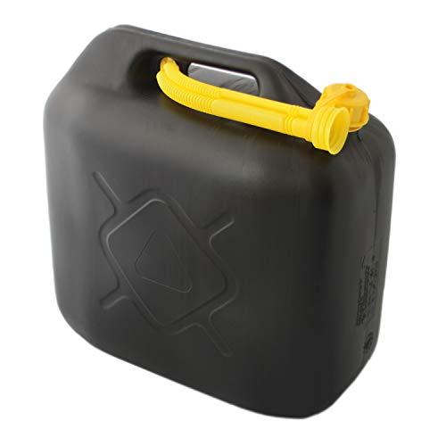 20 Liter Kraftstoffkanister Benzin & Diesel | Benzinkanister | Dieselkanister | Ersatzkanister mit Flexibles Ausgießer