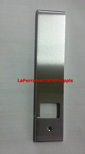 FORMA COPRIAVVOLGITORE AVVOLGITORE PLACCA Acciaio Satinato TAPPARELLE Made in Italy