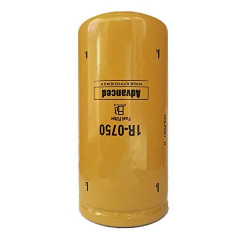 1R-0750 Fuel Filter for Chevy/GMC Duramax 2001-2016 LB7/LML/LMM Caterpillar 1R0750,Donaldson P551313,Baldwin BF7633,Fleetguard FF5320,Wix 33528 (Pack of 1)