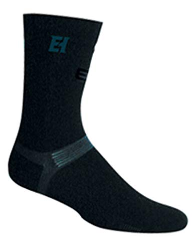 Elite Pro X700 Ultra Bamboo Mid Calf Hockey-Socken – Senior – Groß – Schwarz