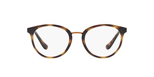 Vogue Damen 0Vo5167 Brillengestell, Braun (Dunkles Havanna), 52 EU
