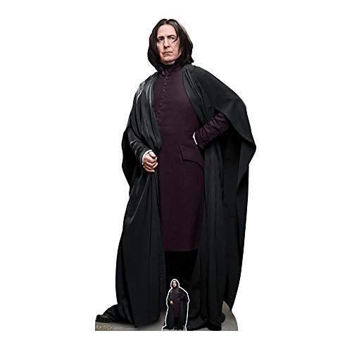Star Cutouts SC1470 Harry Potter Figur Professor Snape perfekt für Hogwarts, magische Partys Fans, Höhe 190 cm