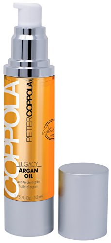 Peter Coppola Argan Oil for Hair – with 100% Pure Argan Oil – Hair Oil for Curly Frizzy Hair and Other Hair Types – Treatment Serum for Smoothing & Softening – Adds Shine and Blocks Humidity, 1.75oz