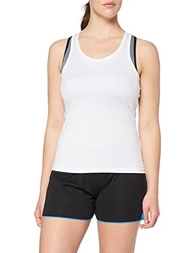 adidas Top Sportivo Donna, Bianco (White 12), Small
