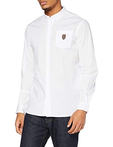 Kappa City Popeline Asm - Camisa de Vestir Hombre