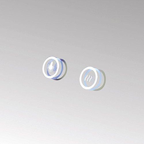 HOKO® LED Bad Spiegel beleuchtet mit Digital Uhr  ANTIBESCHLAG SPIEGELHEIZUNG Bild 3*
