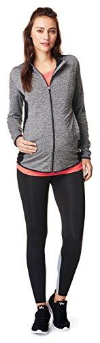 Noppies Damen Jacket Floortje Umstands Sport T-Shirt, Grau (Grey Melange C246), 34 (Herstellergröße: XS)