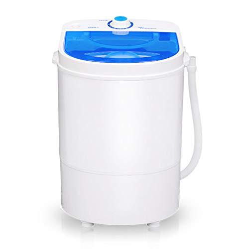 DAND Lavadora Secadora, Mini Lavadora Portable,Conjunto Compacto de Lavado y Centrifugado,Capacidad: 4.5 kg,Potencia: 260 W, para Apartamentos,Dormitorios, Campistas,Campamentos,White