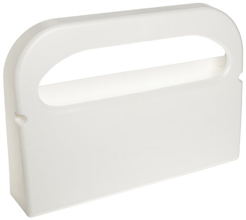 Hospeco HG-1-2Health Gards Half-Fold Plastic Wall Mounted Toilet Seat Cover Dispenser, White