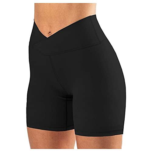 CXDS Legging grande taille pour femme, noir, pantalon de yoga, pantalon de yoga, pantalon large pour femme, pantalon de sport, leggings de grande taille