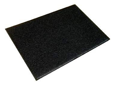 Ultralux Indoor Outdoor Heavy Duty Dirt Trapper Entrance Mat   90cm x 150cm   Absorbent, Strong, Waterproof, Non-Slip Durable Door Mat   Black   Multiple Sizes