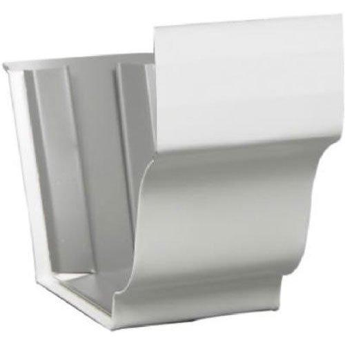 AMERIMAX HOME PRODUCTS 33209 5-Inch Galvanized Slip Joint, White by Amerimax Home Products
