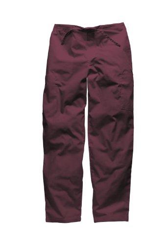 Dickies Workwear Medical Bundhose XL mit Kordelzug Schlupfhose Damen und Herren Bordeaux