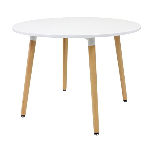Noorsk Design Mesa Redonda de Comedor/Cocina Karelia 100