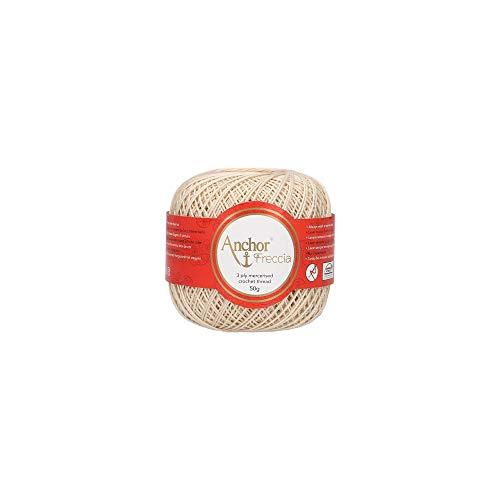 Anchor Hilos De Crochet Freccia, Fuerza: 16, Embalaje: 50g, Longitud: 385m 387