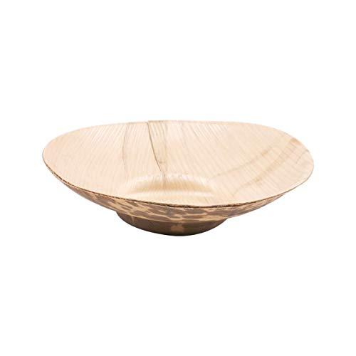 50 Unidades - García de Pou 165.63 Tarrinas, Diámetro 8.5 x 2 cm, Natural Bambú
