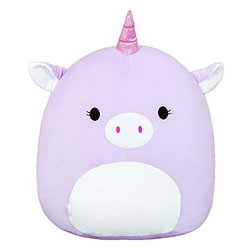 Soft Pruple Unicorn Plush Hugging Pillow,Stuffed Animal Doll Toy Kids Gifts for Birthday, Valentine, Christmas Unicorn Cute Pillow Kawaii Gift