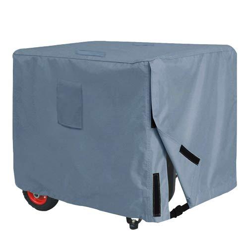 Yolaka Universal-Abdeckung für Generatoren, Grau, strapazierfähig, 81 x 61 x 61 cm, wasserdicht