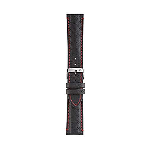 Morellato Correa de Reloj Unisex, Colección Sport Collection, Mod. Race, de Cuero auténtico Perforado - A01X4909C18