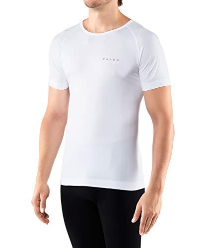 FALKE Herren Warm Comfort Fit M S/S SH Baselayer-Shirt, Weiß (White 2860), S