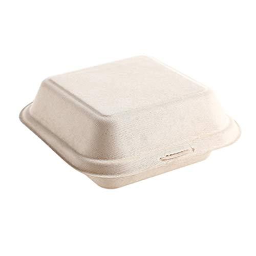 Kraft Paper Bakkerijdozen, wegwerp Dessert Containers met deksels – Premium doos dozen venster gemakkelijk te vervoeren, met Clear Display venster, Donut, Mini Cake,