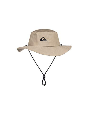Quiksilver Men's Bushmaster Sun Protection Floppy Bucket Hat, Khaki3, Large/X - Large