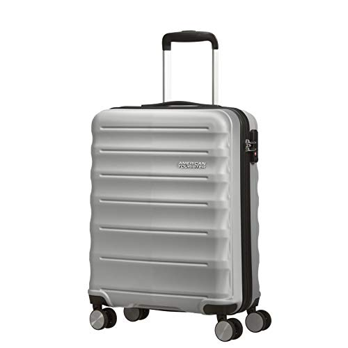 American Tourister MTO Speedlink 4 Wheel Cabin Suitcase - 55cm - Silver