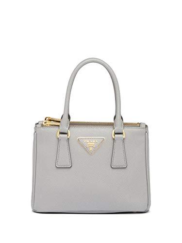 Prada Luxury Fashion Damen 1BA906DOONZVF0424 Grau Leder Handtaschen | Frühling Sommer 20