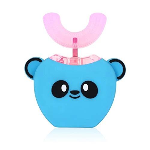 Anself Cepillo de dientes eléctrico para niños,forma de U, limpiador bucal de...