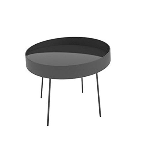 YGWE Side Table Living Room Creative Mobile Small Coffee Table Coffee Table Book Corner Table Nordic Personality Coin Coffee Table Small Apartment Living Room Furniture