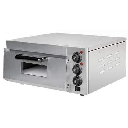 Horno Eléctrico de Pizza Compacto profesional de 560 x570 x280h mm para 1 Pizza 38...