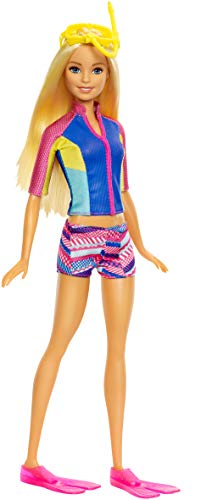 Barbie- Magia del Delfino, Multicolore, FBD63