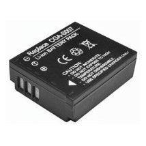 Panasonic CGA-S007e Compatible Battery For Panasonic Lumix TZ1, TZ2, TZ3, TZ4, TZ5- Rechargeable
