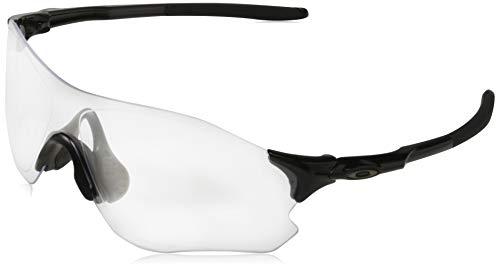 OO9308 EVZero Path Sunglasses, Polished Black/Clear, 38mm