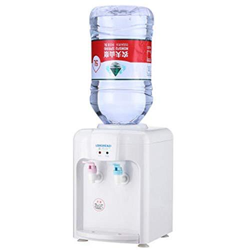 eginvic Mini Desktop Wasserspender, 220V 5L Tragbare Elektrische Heiße Und Kalte Getränkemaschine Für Büro-Pausenräume, Häuser, Wohnungen