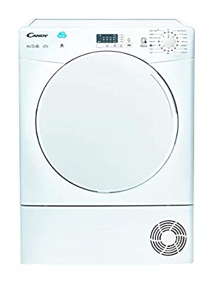 Candy CS C10LF Freestanding Condenser Tumble Dryer, NFC Connected, 10kg Load, White