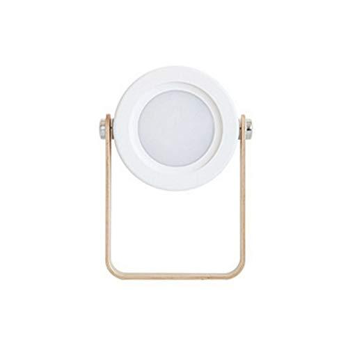 SPNEC Lámpara Plegable Recargable, iluminación portátil de la decoración del hogar, Mesa de Noche de la lámpara USB lámpara de Tabla Ligera
